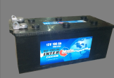 [6ст-190 левый] Аккумулятор INTERBAT 6ст-190