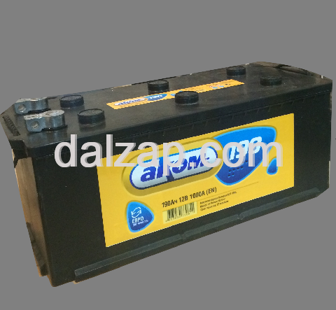 [6ст-190 АЗ левый] Аккумулятор 6ст-190 АЗ АКОМ ЕN 1000